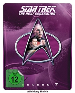 Star Trek: The Next Generation - Season 7 (Steelbook, exklusiv bei Amazon.de) [Blu-ray] [Limited Collector's Edition] [Limited Edition] -