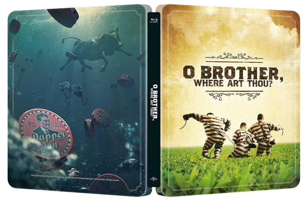 oh brother Where Art Thou steelbook