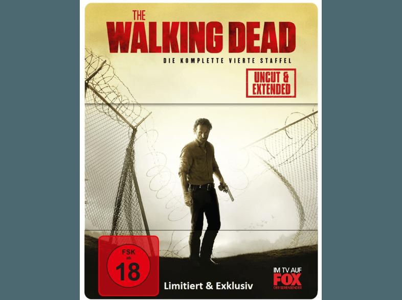 The Walking Dead - 4. Staffel (Limited Steelbook)