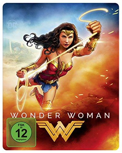 Wonder Woman Illustrated Artwork - Steelbook