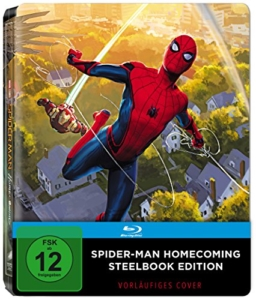 Spider-Man Homecoming Popart Steelbook