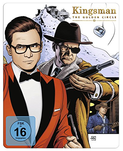 Kingsman - The Golden Circle - Steelbook Vorderseite