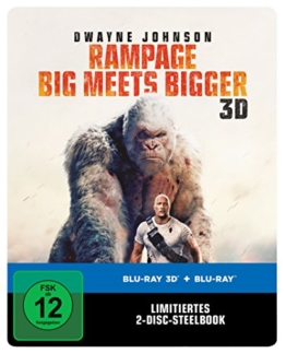 Rampage: Big Meets Bigger 3D Steelbook