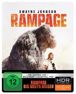 Rampage: Big Meets Bigger 4K Ultra HD Steelbook
