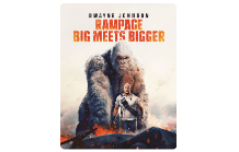 Rampage: Big Meets Bigger Steelbook