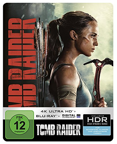 Tomb Raider 4K Ultra HD Steelbook