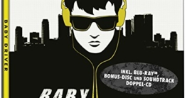 Baby Driver Steelbook (2 Discs-Steelbook + 2 Discs-Soundtrack )