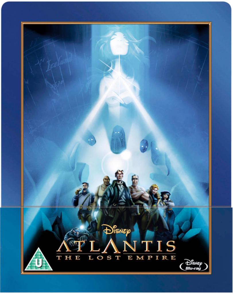 Atlantis - Das Geheimnis der verlorenen Stadt - Zavvi Exklusives Limited Edition Steelbook
