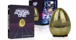 Ready Player One Ultimate Collector's Edition (Steelbook + leuchtendes Easter Egg aus Glas)