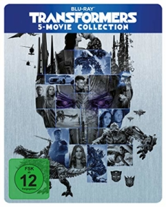 Transformers 5 Movie Collection Steelbook