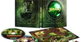 Jumanji 1+2 Steelbook mit Brettspiel