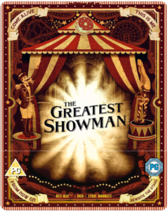 The Greatest Showman Zavvi Steelbook