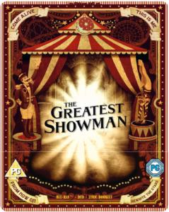 The Greatest Showman Zavvi Steelbook