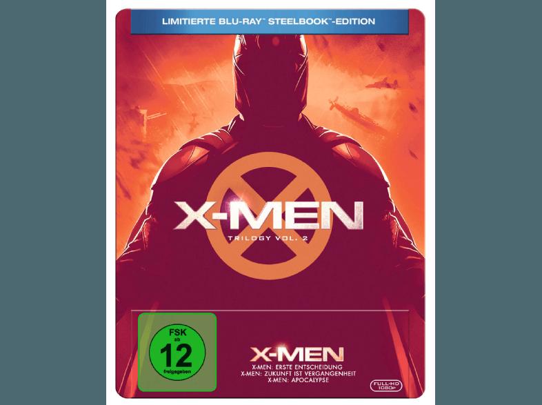 X-MEN TRILOGIE Steelbook
