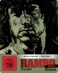 Rambo Trilogy 4K Steelbook