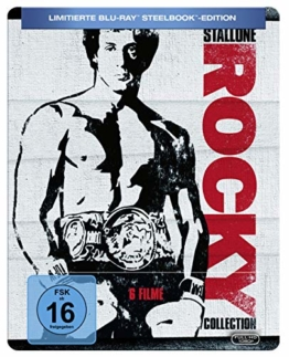 Rocky Collection 1-6 Steelbook