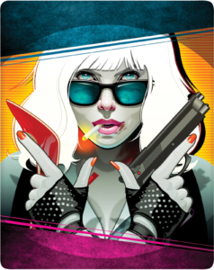 Atomic Blonde 4K Zavvi Steelbook