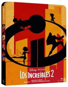 Die Unglaublichen 2 Spanien Steelbook
