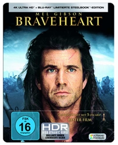Braveheart 4K UHD Steelbook