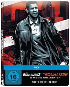 The Equalizer 1 + 2 Steelbook