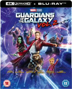 Guardians of the Galaxy Vol. 2 4K Ultra HD Zavvi Steelbook