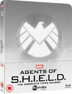Marvel's Agent of shield Staffel 3 Zavvi Steelbook