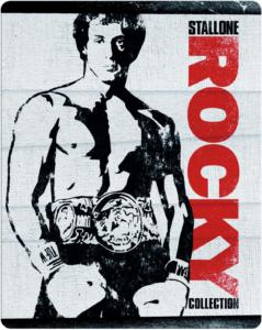 Zavvi Steelbook Rocky 1-6