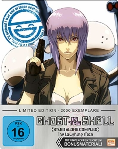 Ghost in the Shell - Stand Alone Complex - Laughing Man - Limited FuturePak