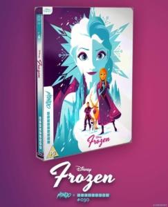 Frozen Mondo Steelbook