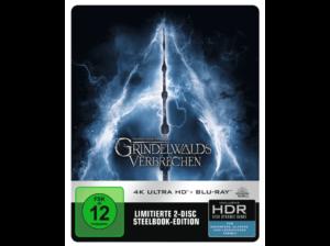 Phantastische Tierwesen 2 - Grindelwalds Verbrechen MediaMarkt 4K Steelbook