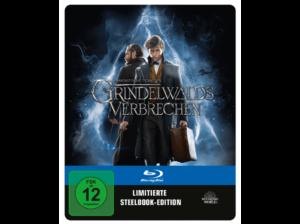 Phantastische Tierwesen 2 - Grindelwalds Verbrechen MediaMarkt Blu-ray Steelbook