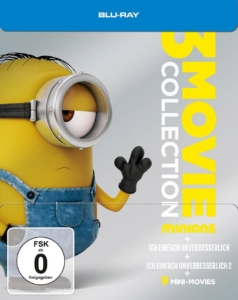 Minions - 3 Movie Collection Steelbook
