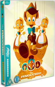 Pinocchio Mondo Steelbook