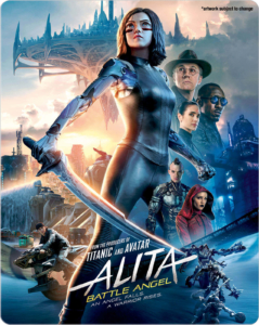 Alita Battle Angel Zavvi Steelbook