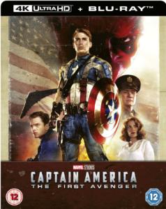 Captain America the first Avenger 4K Steelbook