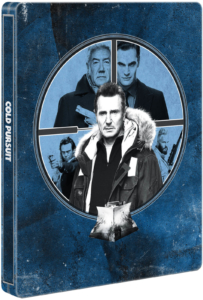 Hard Powder (Cold Pursuit) Zavvi 4K Steelbook