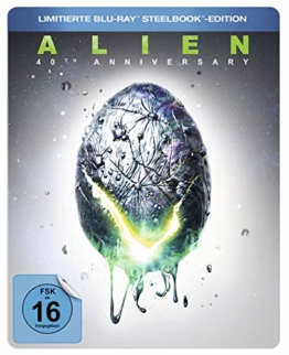 Alien 40th Anniversary Blu-ray Steelbook