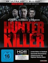 Hunter Killer 4K Steelbook