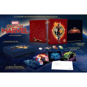 Captain Marvel Zavvi Sammleredition