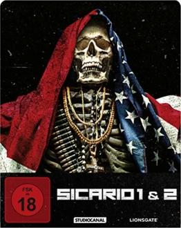 Sicario 1 & 2 Blu-ray Steelbook