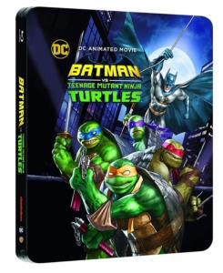 Batman vs Teenage Mutant NinjaTurtles UK Steelbook