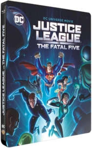 Justice League vs The Fatal Five Steelbook