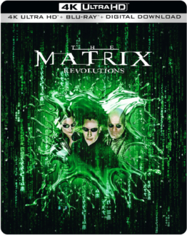 Matrix Revolutions 4K Steelbook