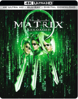 Matrix Reloaded Steelbook