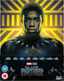Black Panther 3D (Inkl 2D Blu-ray) – Zavvi Exklusives Lenticular Edition Steelbook