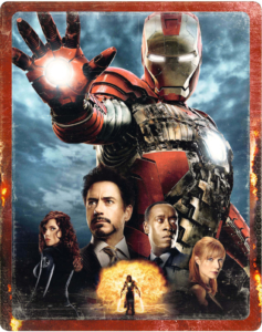 Iron Man 2 - 4K Ultra HD Zavvi Exklusives Steelbook
