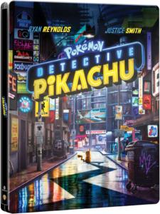 Pokemon Meisterdetektiv Pikachu 4K Steelbook England
