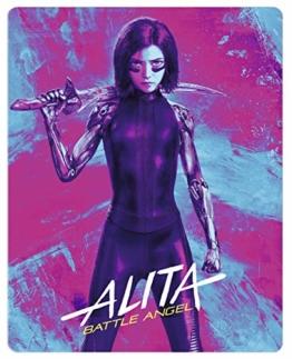 Alita: Battle Angel (4K Ultra HD + 3D Blu-ray Steelbook)