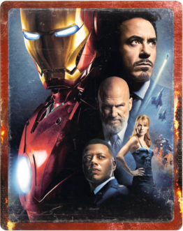 Iron Man - 4K Ultra HD (Inkl. 2D Blu-ray) Zavvi Exklusives Steelbook