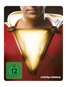 Shazam! (3D + 2D Steelbook) (exklusiv bei amazon.de) [Blu-ray] [Limited Edition]